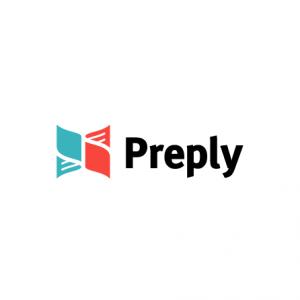 Preply - korepetycje językowe (logo)
